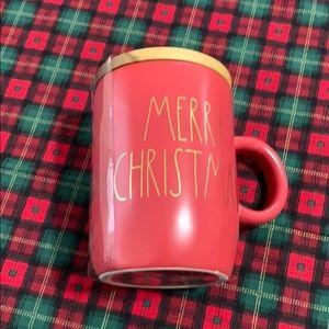 Rae Dunn MERRY CHRISTMAS MUG AND COASTER